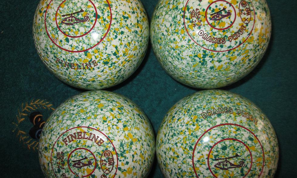 Drakes Pride Fineline bowls - Size 2.0