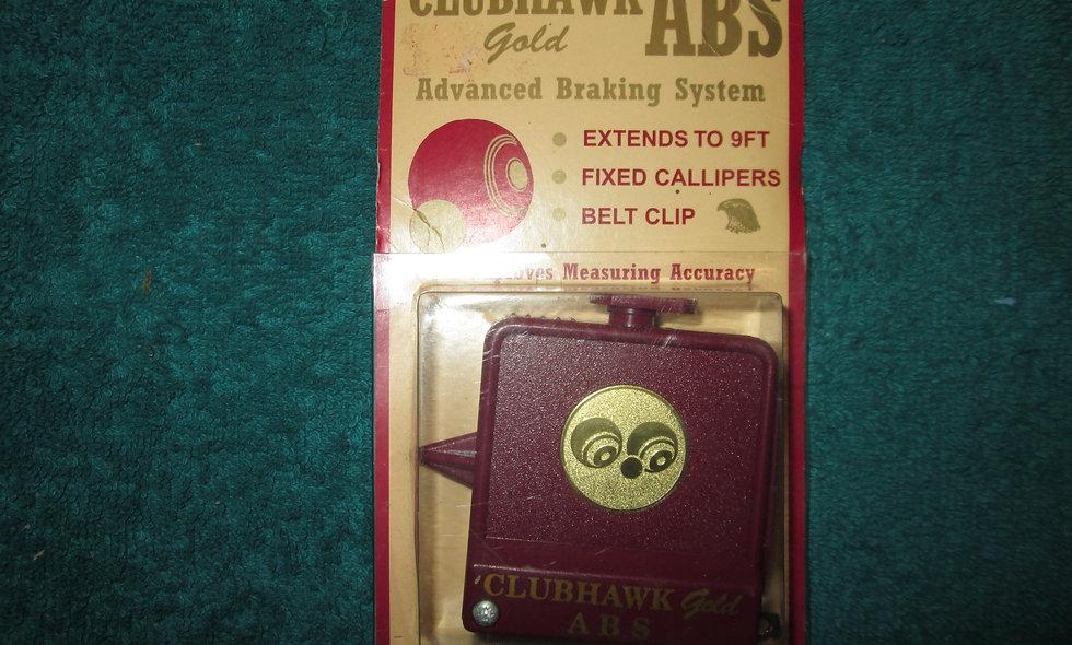 Clubhawk Gold Measure c/w Calipers