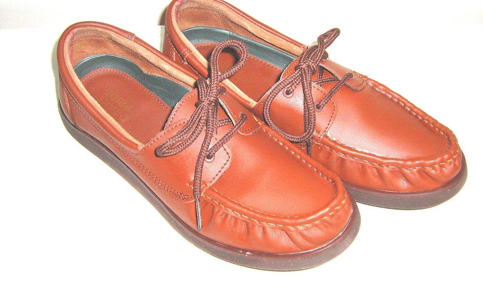 Drakes Pride Brown Ladies Bowls Shoes - Size 71/2