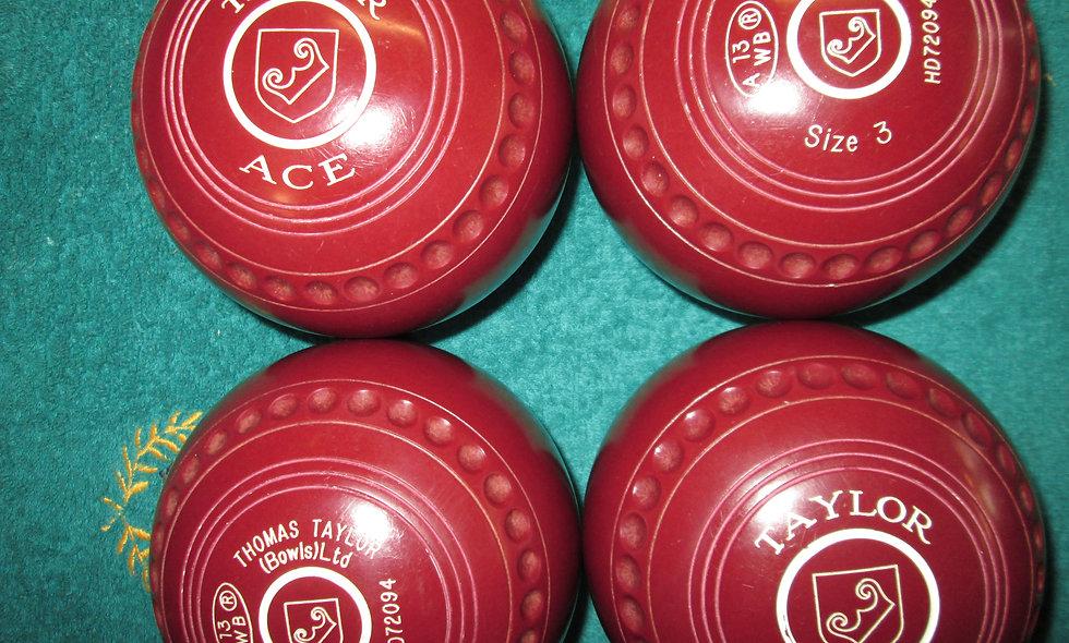 Taylor Ace bowls - Size 3