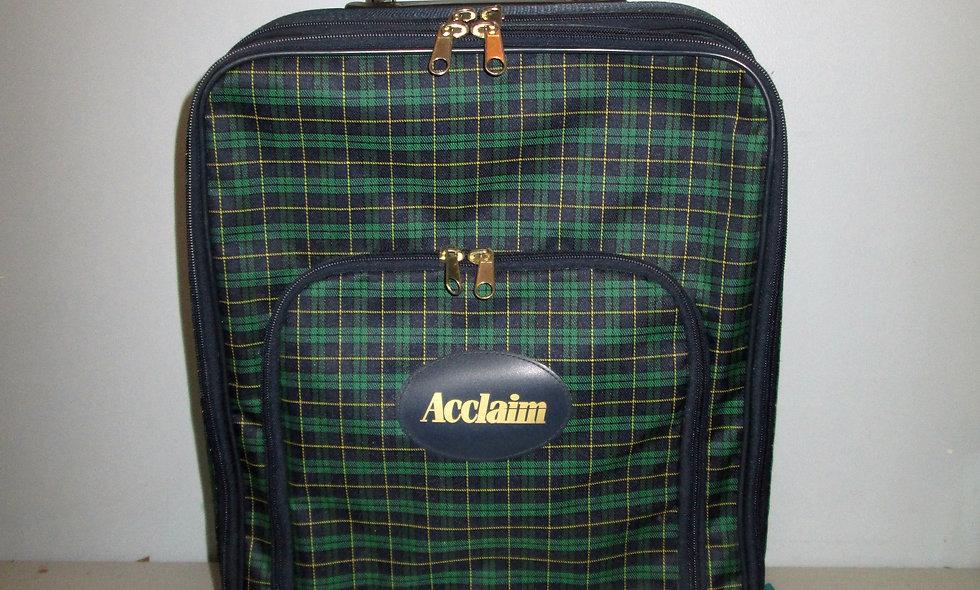 Acclaim Tartan Trolley Case/Bag