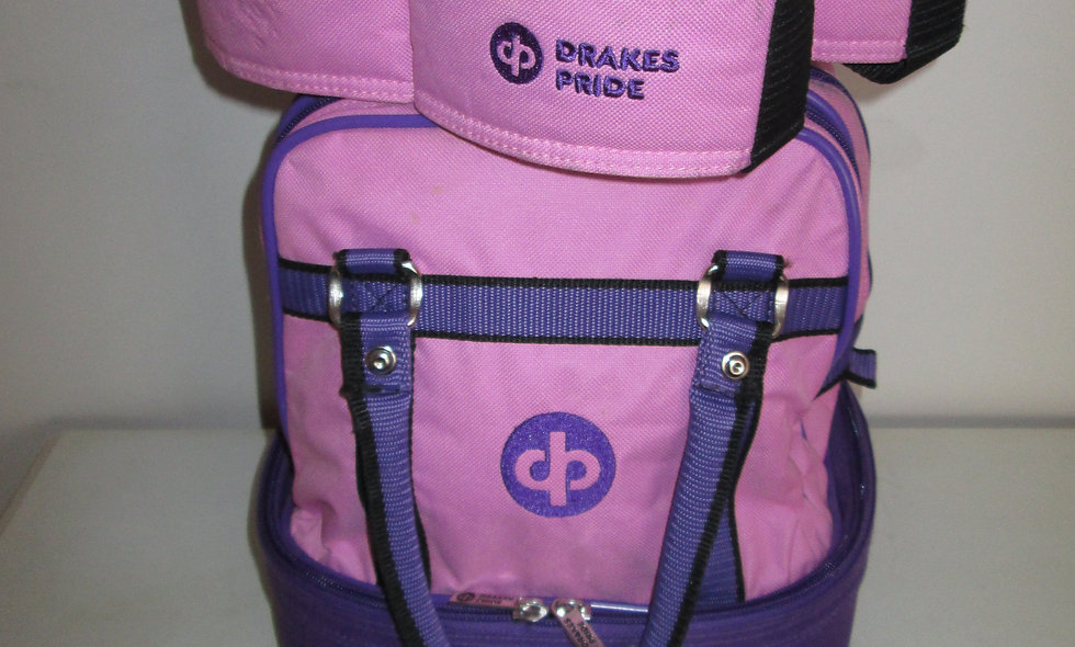 Drakes Pride Bowls Bag & matching 4 bowls carrier