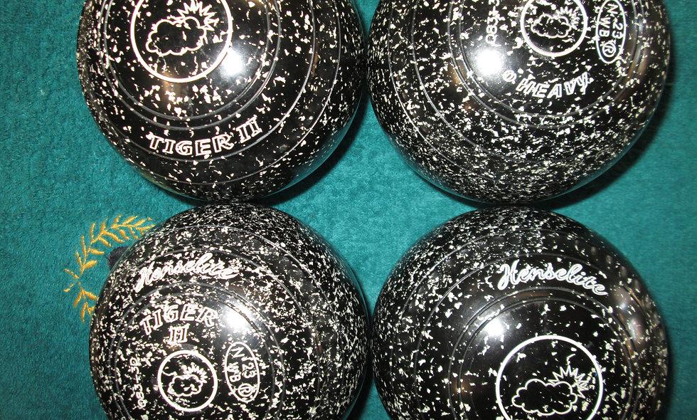 Henselite Tiger II bowls - Size 0