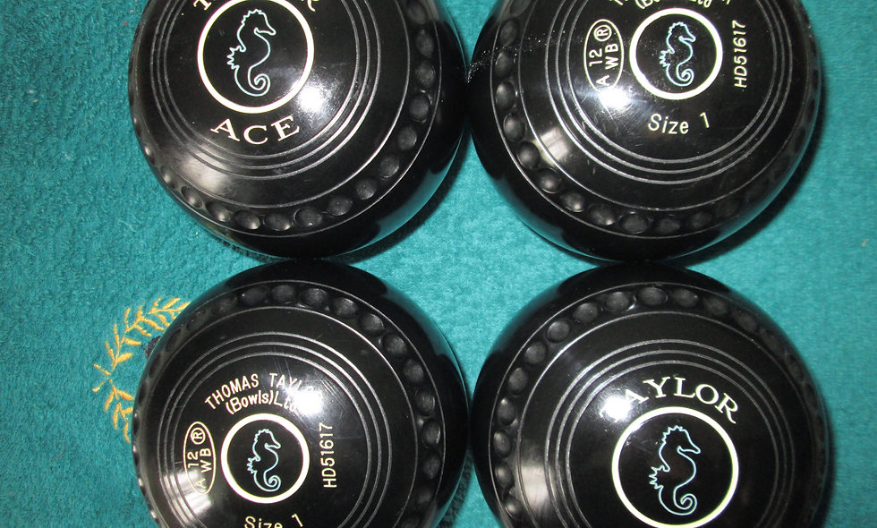 Taylor Ace bowls - Size 1