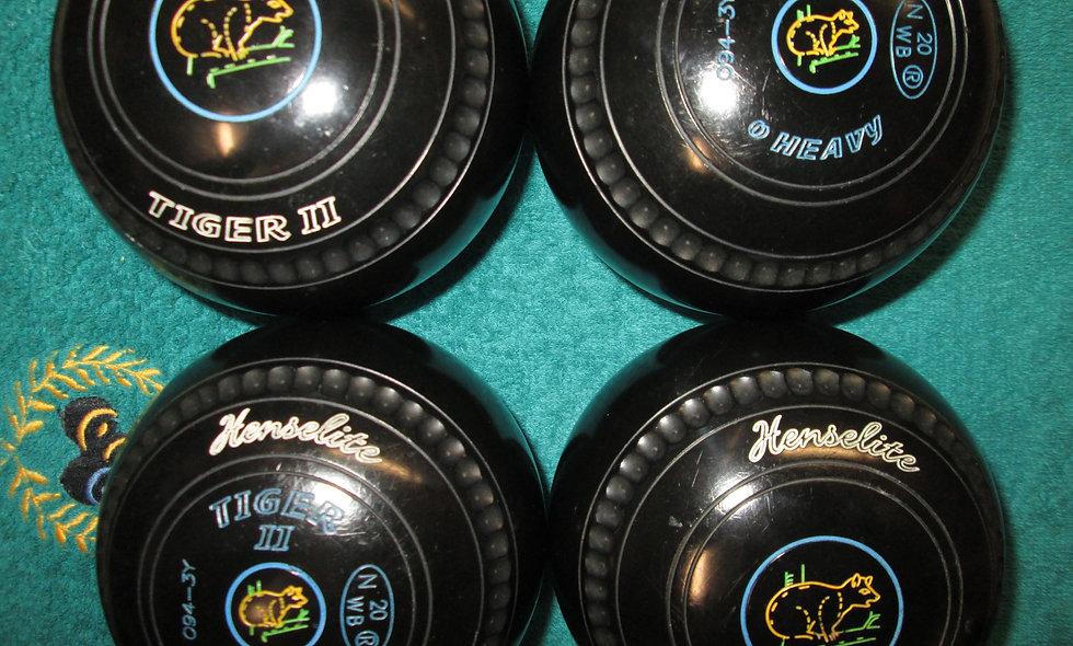 Henselite Tiger II bowls - Size 0-Special Offer
