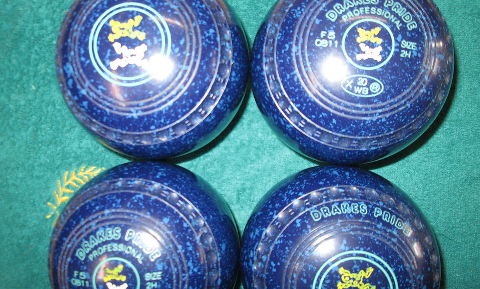 Drakes Pride Professional bowls - Size 2.0