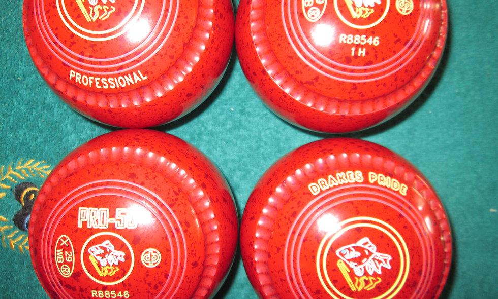 Drakes Pride Professional-50 bowls - Size 1.0