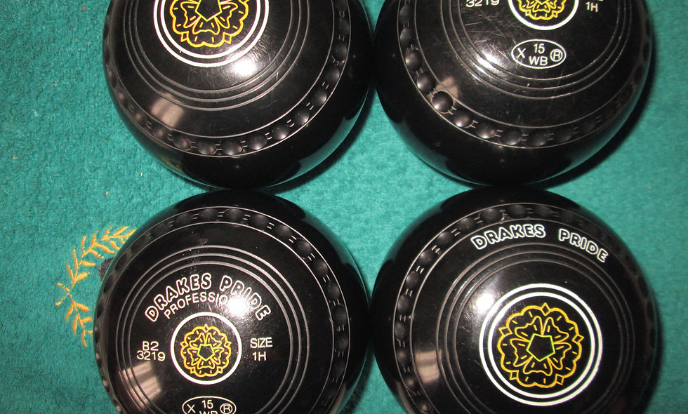 Drakes Pride Professional bowls - Size 1-Special Offer