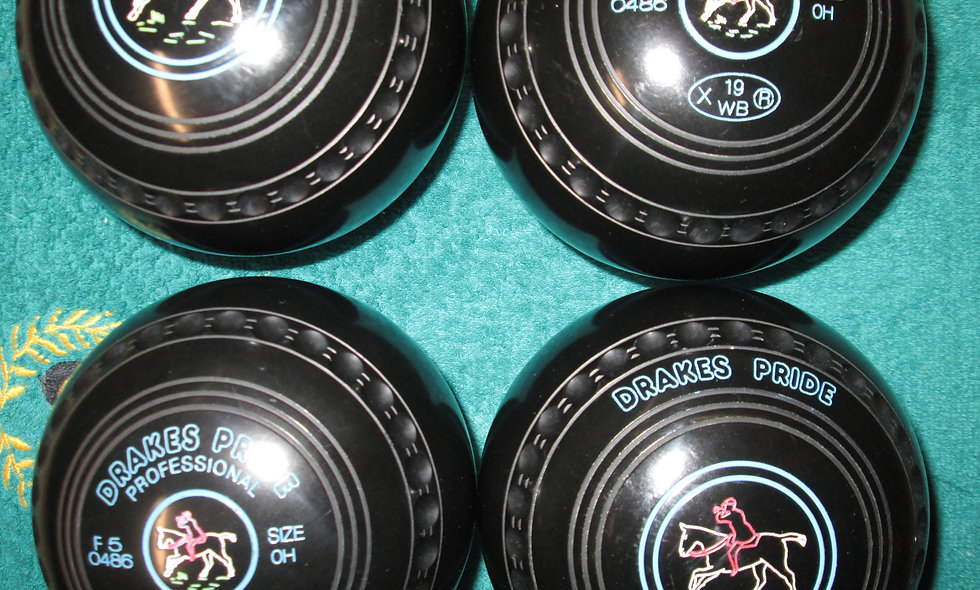 Drakes Pride Professional bowls - Size 0-Special Offer