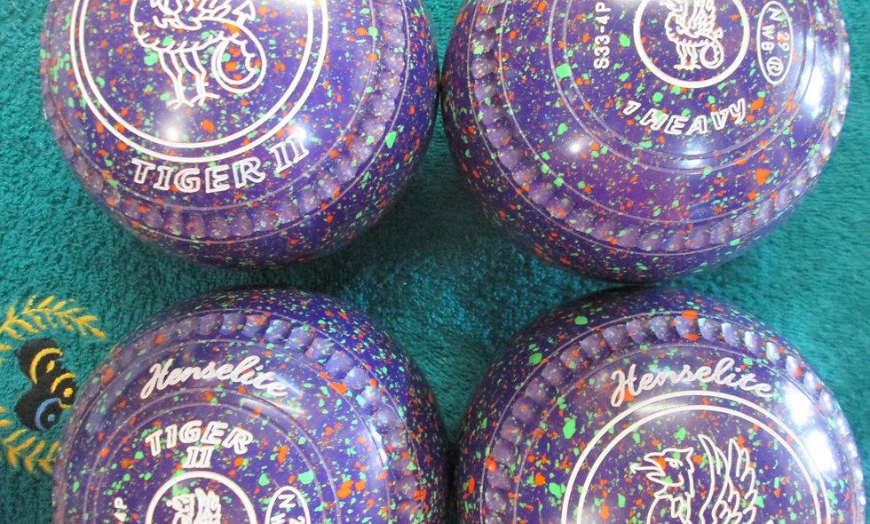 Henselite Tiger II bowls - Size 1