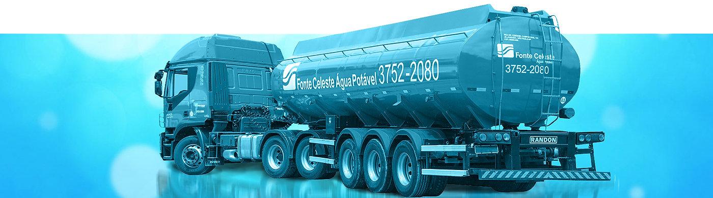 Fonte Celeste Água Potável | Caminhão Pipa