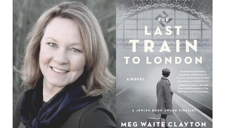 THE LAST TRAIN TO LONDON WITH MEG WAITE CLAYTON