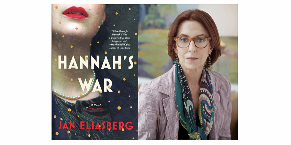 HANNAH'S WAR WITH JAN ELIASBERG