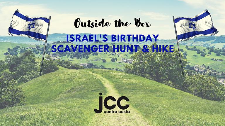 ISRAEL'S BIRTHDAY SCAVENGER HUNT & HIKE