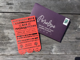 Wedding Shower Invitation & Envelope
