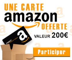 Gagnez Une carte AMAZON de 200€ | Vip Concours