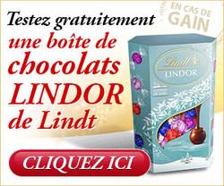 1Jour1Envie - Chocolats Lindt Lindor