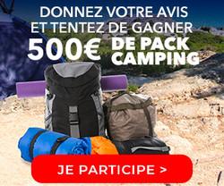 Enquête-Shopping Camping