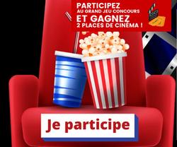 2 Places de Cinéma à gagner