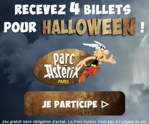 Conso-Enquête Parc Astérix - Halloween