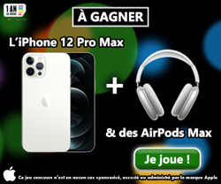 iPhone 12 Pro Max et des Airpods Max