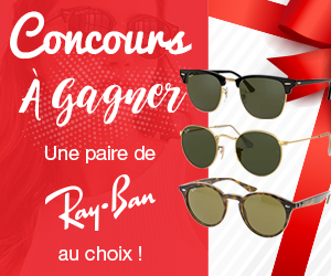 Gagner une paire de Ray-Ban