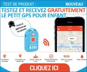 Plein2Kdo - GPS pour enfant