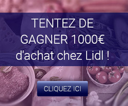 1000€ d'achat chez Lidl