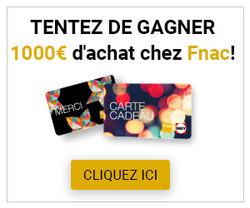 1000€ d'achat à la Fnac