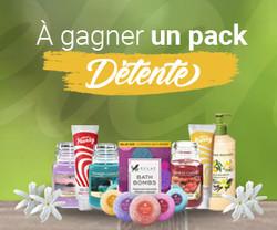 Gagnez Pack détente _ Vip Concours