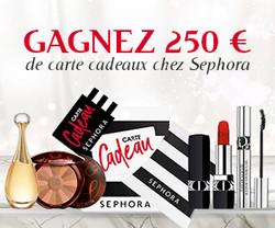 Gagnez 250€ Sephora | Vip Concours