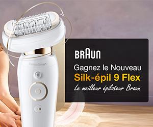 Épilateur Silk-épil 9 de Braun