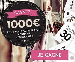 1000€ pour les soldes