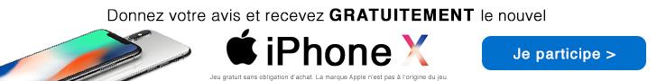 Conso-Enquête iPhone 10