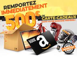 Carte cadeaux 500€ Amazon