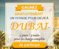 Gagnez un Voyage pour deux à Dubaï | Vip Concours