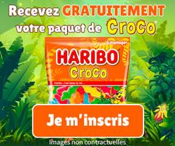 Paquet de Croco HARIBO