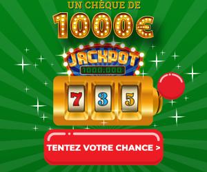 Enquête-Shopping Jackpot de 1000€