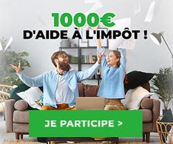 Enquête-Shopping Chèque aide impôt 1000€
