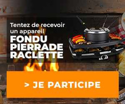 Conso-Enquête Raclette / Fondu / Pierrade