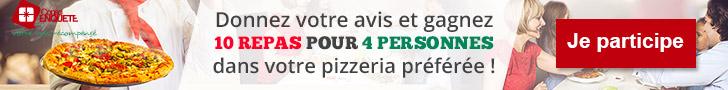 Conso-Enquête Pizzeria