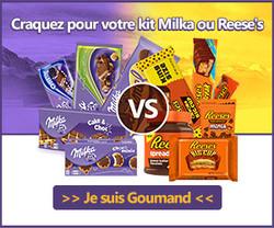 Lot de 500€ de produits Milka