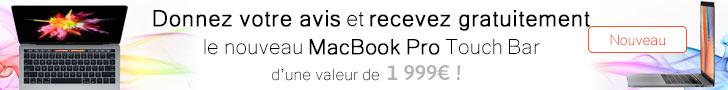 Conso-Enquête - MacBookPro Touch Bar