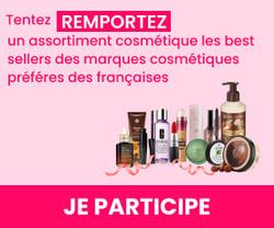Best sellers de marques cosmétiques à gagner