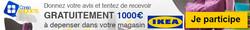 Jeu concours IKEA 1000€