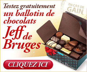1Jour1Envie - Chocolats Jeff de Bruges