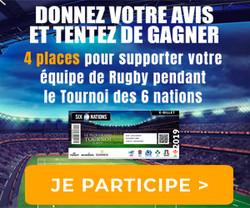 Conso-Enquête Rugby - Tournoi des 6 nations