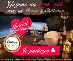 Conso-Enquête Relais & Châteaux St-Valentin