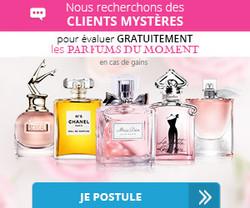 Client Mystère - Parfums