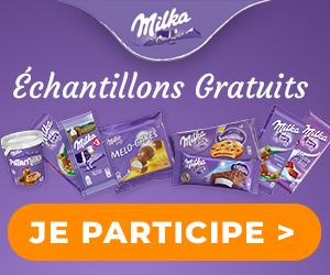 Enquête-Shopping échantillons gratuits Milka chocolat